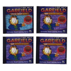 Garfield Educational Software Ages 7 To 9 includes 4 Titles