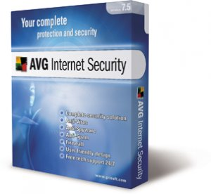 AVG Internet Security Home Edition - 3 PC  1yr  Subscription