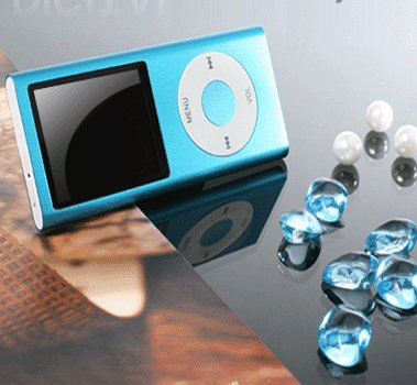 "2GB MP3 MP4 Player with 1.8"" color screen - Plays videos, music and more- 4 Color Option"