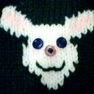 Handmade Easter Bunny Sweater for 15 inch Bitty Baby Doll
