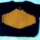 Handmade Halloween Pumpkin Sweater for 15 inch Bitty Baby Doll