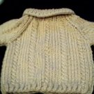 Handmade Build A Bear Sweater - Cable Twist