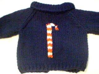 Handmade Build A Bear Sweater - Candy Cane