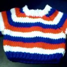 Handmade Build A Bear Sweater - Three Stripes