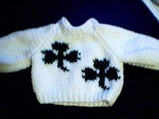 Handmade Build A Bear Sweater - Two Shamrocks