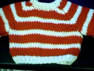 Handmade Build A Bear Sweater - Two Stripes