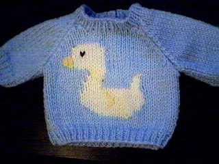 Handmade Build A Bear Cub Sweater - Duck