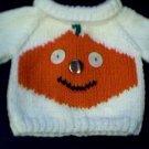Handmade Build A Bear Cub Sweater - Jack O Lantern
