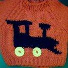Handmade Build A Bear Cub Sweater - Train Engine