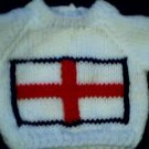 Handmade Baby Born Doll Sweater - St. George Flag