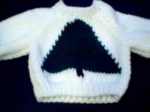 Handmade Our Generation Sweater - Christmas Tree