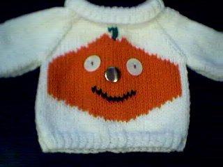 Handmade Our Generation Sweater - Jack O Lantern