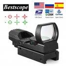 Hunting RifleScope ID29 Hot 20mm Rail Riflescope Hunting Optics Holographic Red Dot Sight Reflex 4 R