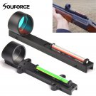 Hunting RifleScope ID30 Tactical Red Green Fiber Red Green Dot Sight Scope Holographic Sight Fit Sho