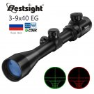Hunting RifleScope ID34 3-9x40 Optic Scope Red Green Rangefinder Illuminated Optical Sniper Rifle Sc