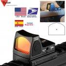 Hunting RifleScope ID49 US Stock Mini RMR Red Dot Sight Collimator Glock Reflex Sight Scope fit 20mm