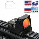 Hunting RifleScope ID54 Mini RMR Red Dot Sight Collimator Glock / Rifle Reflex Sight Scope fit 20mm