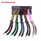 Karambit ID25 Karambit Knife Trainer Dull-Blade Cs-Go Balisong Practice-Butterfly Colorful No-Edge