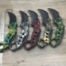 Karambit ID44 Karambit-Knife Hunting-Knives Scorpion Camping-Tool Survival Stainless-Steel Outdoor