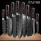 Knife ID03 XITUO Cleaver Slicing Knives-Tool Chef-Knife Damascus-Pattern Japanese Utility Sharp