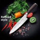 Knife ID24 Knife-Set Cleaver-Knife Utility-Slicer Japanese Kitchen Stainless-Steel Santoku 440C