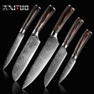 Knife ID58 XITUO Knife-Set Blades Cooking-Tools Chef Laser Stainless-Steel Kitchen Utility Damascus