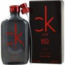 Calvin Klein Ck One Red Cologne for Men - 3.4oz.100ml