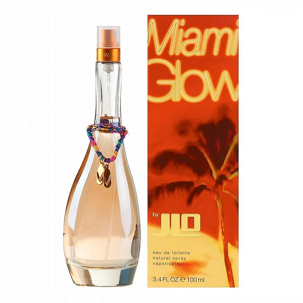 Jennifer Lopez Miami Glow EDT Perfume for Women - 3.4oz/100ml