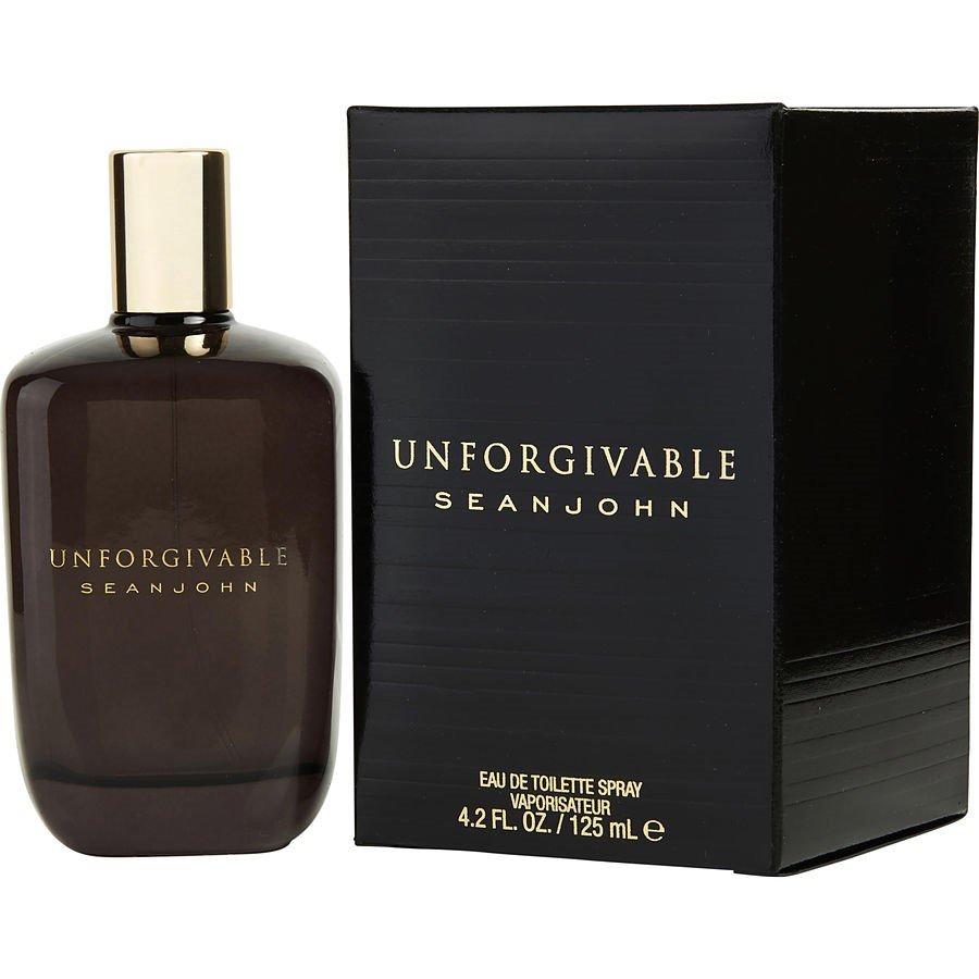 Sean John Unforgivable Eau De Toilette Spray for Men - 4.2oz/125/.ml