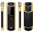 Original MPARTY LT2 Luxury Cell Phone with Metal Case Leather Case Dual Sim Bluetooth