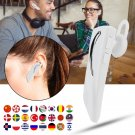 Bluetooth 5.0 Wireless Translation Headphone Portable Real-time Interpreter