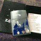 Rare Retired Brushed City View DJ Music Pulse RJR Zippo Lighter Free Shipping