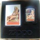 Rare Retired Petty Girls Bettie Page Cleopatra Zippo LIGHTER Free Shipping