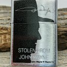 Retired 2007 Limited Stolen From John Wayne Chrome Zippo Lighter 2295/5000 Free Shipping