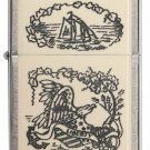 Sharp Rare Retired Liberty Eagle Zippo Lighter Free Shipping