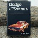 Rare Retired 2006 1969 Dodge Charger Black Finish Lighter Zippo Lighter Free Shipping