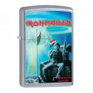 Iron Maiden Two Minutes To Midnight Album Cover, Genuine Windproof Zippo Lighter Free Shipping