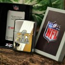 Retired NFL Limited Edition Superbowl 50 Zippo Lighter Free Shipping