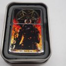 Tarot card Devil Case Lighter W/Fitted Dual Torch Butane Insert Free Shipping