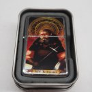 Tarot card Temperance Case Lighter W/Fitted Dual Torch Butane Insert Free Shipping