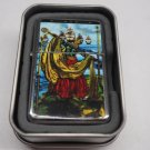 Tarot card Ships Case Lighter W/Fitted Dual Torch Butane Insert Free Shipping