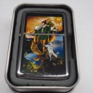 Tarot card The Fool Case Lighter W/Fitted Dual Torch Butane Insert Free Shipping