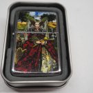 Tarot card #1 Case Lighter W/Fitted Dual Torch Butane Insert Free Shipping