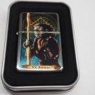 Tarot card Judgement Case Lighter W/Fitted Dual Torch Butane Insert Free Shipping
