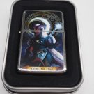 Tarot card The Moon Case Lighter W/Fitted Dual Torch Butane Insert Free Shipping
