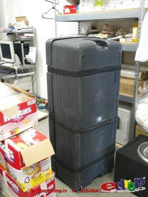 "Giant 51x21x15"" Wheeled tour case Lighting Cello Travel Gig tour case crate box coffin gator pelican"