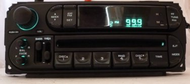 Dodge Chrysler Jeep Radio CD Player Factory OEM