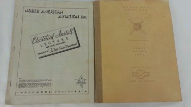 Wwii Ford radial engine + Naa aircraft manual