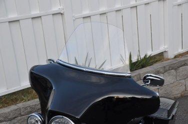 Harley Davidson 12 inch Windshield Clear  96 -13 Touring FLHR FLHT FLHX  FLHTC