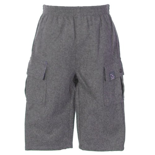 THE CHILDREN'S PLACE GREY WOOL BLEND CARGO PANTS WITH RED PLAID LINING 12 MONTHS - FREE SHIPPING